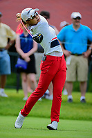 Jenny Shin (KOR) watches her tee shot on 10 during Friday's round 2 of the 2017 KPMG Women's PGA Championship, at Olympia Fields Country Club, Olympia Fields, Illinois. 6/30/2017.<br /> Picture: Golffile | Ken Murray<br /> <br /> <br /> All photo usage must carry mandatory copyright credit (&copy; Golffile | Ken Murray)