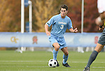 12 November 2008: UNC's Zach Loyd. The University of Maryland defeated the University of North Carolina 1-0 at Koka Booth Stadium at WakeMed Soccer Park in Cary, NC in a men's ACC tournament quarterfinal game.