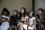 In the center of the village there is a big church were people gather on Sunday to celebrate the sunday mass and, at the same time, where children attend the sunday school to learn about the bible.<br />