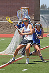 San Diego, CA 05/21/11 - Hannah Bettencourt (Torrey Pines #3) and Erin Quick (Rancho Bernardo #14) in action during the 2011 CIF San Diego Section Division 1 Championship game between Rancho Bernardo and Torrey Pines.