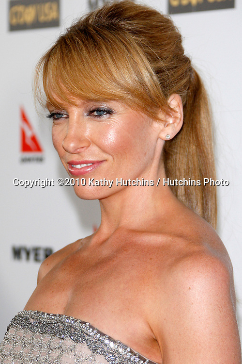Toni Collette.arriving at the G'Day USA 2010 Los Angeles Black Tie Gala.Hollywood & Highland.Los Angeles, CA.January 16, 2010.©2010 Kathy Hutchins / Hutchins Photo....