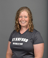 STANFORD, CA - AUGUST 15, 2014--Karin Hughes, with the  Stanford Athletic department.