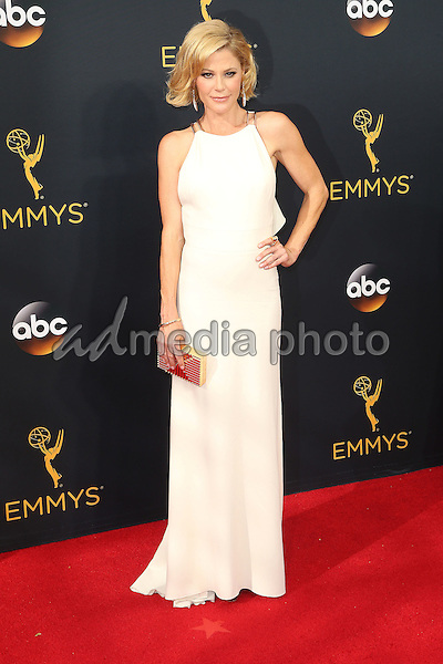 18 September 2016 - Los Angeles, California - Julie Bowen. 68th Annual Primetime Emmy Awards held at Microsoft Theater. Photo Credit: AdMedia