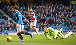 Joe Garner rounds keeper Remi Matthews to score