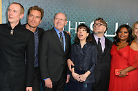 Doug Jones, Michael Shannon, Richard Jenkins, Sally Hawkins, Guillermo del Toro &amp; Octavia Spencer at the Los Angeles premiere of &quot;The Shape of Water&quot; at the Academy of Motion Picture Arts &amp; Sciences, Beverly Hills, USA 15 Nov. 2017<br /> Picture: Paul Smith/Featureflash/SilverHub 0208 004 5359 sales@silverhubmedia.com
