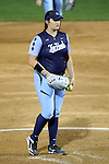 CHAPEL HILL, NC - FEBRUARY 24: UNC's Brittany Pickett. The University of North Carolina Tar Heels played the Towson University Tigers on February, 24, 2017, at Anderson Softball Stadium in Chapel Hill, NC in a Division I College Softball match. UNC won the game 6-5 in nine innings.
