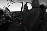 Front seat view of a 2018 Ram Promaster City SLT Wagon 5 Door Mini Van front seat car photos