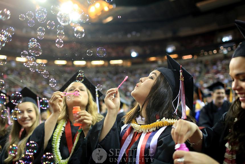 06152014- Seattle University Undergraduate Commencement 2014