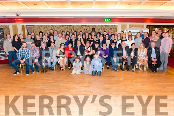 Mary Healy from Beaufort celebrated her 50th birthday surrounded by friends and family in the Avenue Hotel, Killarney last Friday night.
