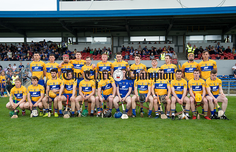 The Clare team which lost out to Waterford in the Munster  championship round robin game at Cusack Park Photograph by John Kelly.