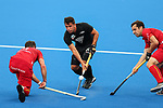 George Muir during the Pro League Hockey match between the Blacksticks men and Belgium, National Hockey Arena, Auckland, New Zealand, Sunday 2 February 2020. Photo: Simon Watts/www.bwmedia.co.nz