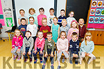 New recruits Junior infants in Ms Clearys class in Castlegregory NS<br /> Miss Cleary class
