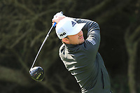 Connor Syme (SCO) on the 8th tee during Round 2 of the Challenge Tour Grand Final 2019 at Club de Golf Alcanada, Port d'Alcúdia, Mallorca, Spain on Friday 8th November 2019.<br /> Picture:  Thos Caffrey / Golffile<br /> <br /> All photo usage must carry mandatory copyright credit (© Golffile | Thos Caffrey)
