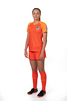 Houston, TX - Thursday June 06, 2019: Houston Dash Media Day at BBVA Compass Stadium.