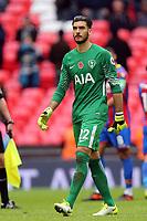 Paulo Gazzaniga of Tottenham Hotspur after Tottenham Hotspur vs Crystal Palace, Premier League Football at Wembley Stadium on 5th November 2017