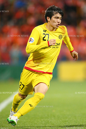 Kim Chang Soo (Reysol),<br /> MARCH 17, 2015 - Football / Soccer : <br /> AFC Champions League Group E <br /> match between Kashiwa Reysol 2-1 Shandong Luneng FC <br /> at Hitachi Kashiwa Stadium, Chiba, Japan.<br /> (Photo by AFLO SPORT)