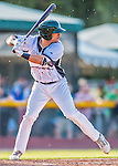 4 September 2016: Vermont Lake Monsters outfielder Robert Bennie in action against the Lowell Spinners at Centennial Field in Burlington, Vermont. The Lake Monsters fell to the Spinners 8-3 in NY Penn League action. Mandatory Credit: Ed Wolfstein Photo *** RAW (NEF) Image File Available ***