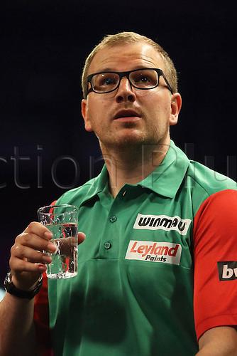 13.06.2015. Frankfurt, Germany. BWIN, PDC World Cup of Darts.  MARK WEBSTER Wales versus Hong Kong