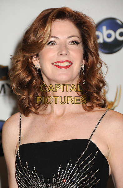 DANA DELANEY.60th Annual Primetime Emmy Awards held at the Nokia Theatre, Los Angeles, California, USA..September 21st, 2008.pressroom press room headshot portrait delany red lipstick black .CAP/ADM/BP.©Byron Purvis/AdMedia/Capital Pictures.