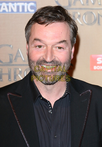 LONDON, ENGLAND - MARCH 18: Ian Beattie arrives for the world premiere of Game of Thrones Season 5 at Tower of London on March 18, 2015 in London, England<br /> CAP/ROS<br /> &copy; Steve Ross/Capital Pictures