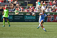 Portland, OR - Saturday August 05, 2017: Amber Brooks during a regular season National Women's Soccer League (NWSL) match between the Portland Thorns FC and the Houston Dash at Providence Park.