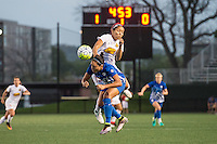 Allston, MA - Wednesday Sept. 07, 2016: Kyah Simon, Jaelene Hinkle during a regular season National Women's Soccer League (NWSL) match between the Boston Breakers and the Western New York Flash at Jordan Field.