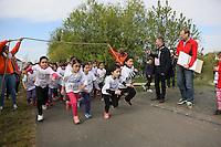 Kinder des Jahrgangs 2009/10 gehen auf die Strecke