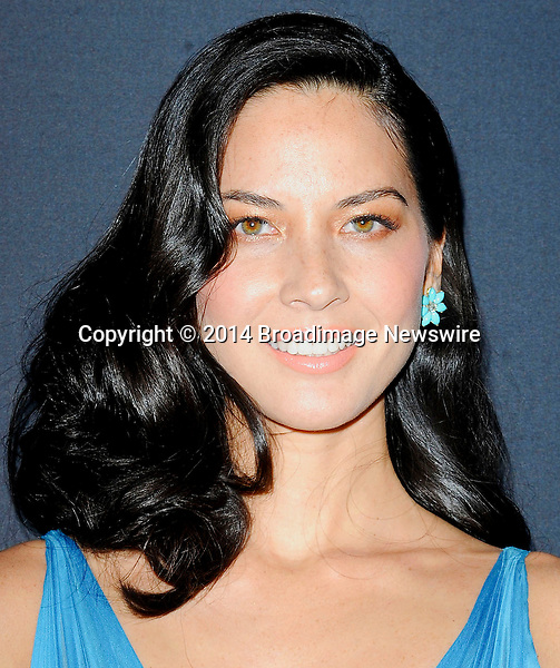 Pictured: Olivia Munn<br /> Mandatory Credit &copy; Adhemar Sburlati/Broadimage<br /> The 16th Costume Designers Guild Awards<br /> <br /> 2/22/14, Los Angeles, California, United States of America<br /> <br /> Broadimage Newswire<br /> Los Angeles 1+  (310) 301-1027<br /> New York      1+  (646) 827-9134<br /> sales@broadimage.com<br /> http://www.broadimage.com