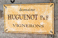 domaine huguenot p & f marsannay cote de nuits burgundy france