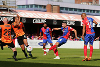 Ollie Harfield of Dagenham and Redbridge goes close during Dagenham & Redbridge vs Chesterfield, Vanarama National League Football at the Chigwell Construction Stadium on 15th September 2018