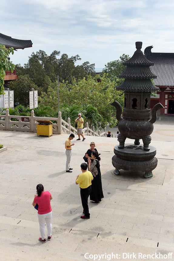 Nanshan-Tempel Anlage bei Sanya auf der Insel Hainan, China<br /> Nanshan-temple compound near Sanya, Hainan island, China