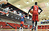 The St. John's University men's basketball team practices after Media Day at Lou Carnesecca Arena in Jamaica, NY on Thursday, Oct. 27, 2016.