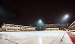 Stockholm 2014-11-14 Bandy Elitserien Hammarby IF - Edsbyns IF :  <br /> Vy &ouml;ver Zinkensdamms IP mot huvudl&auml;ktaren inf&ouml;r matchen mellan Hammarby IF och Edsbyns IF <br /> (Foto: Kenta J&ouml;nsson) Nyckelord:  Elitserien Bandy Zinkensdamms IP Zinkensdamm Zinken Hammarby Bajen HIF HeIF Edsbyn EIF Byn utomhus exteri&ouml;r exterior