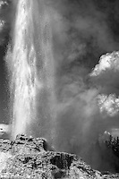 Black and White Geyser