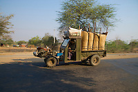 A classic transport on the outskirts of Bagan, Myanmar/Burma