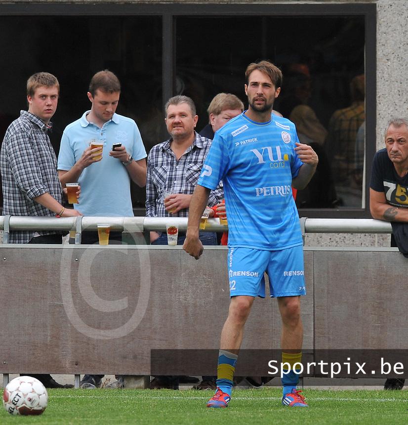 SV Zulte - Waregem : Sebastien Bruzzese.foto VDB / BART VANDENBROUCKE