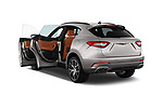Car images close up view of a 2017 Maserati Levante Base 5 Door SUV doors