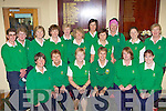 The Tralee team and supporters at Killorglin Golf club on Sunday front row l-r: Geraldine Reen, Jenna Leen, Ber Collins Captain, Tricia Casey Team Manager, Anjela Deenihan, Caroline McEnery. Back row: Karen Gearon, Martha Corcoran, Bridie O'Sullivan, Annette Dineen, Mary O'Neill, Siobhain Stack, Antoinette Sayers, Ann O'Driscoll, Barbara Reen, Deirdre Coughlan and Suzanne Boyle.