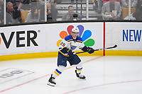 June 6, 2019: St. Louis Blues defenseman Vince Dunn (29) in game action during game 5 of the NHL Stanley Cup Finals between the St Louis Blues and the Boston Bruins held at TD Garden, in Boston, Mass. The Blues defeat the Bruins 2-1 in regulation time. Eric Canha/CSM