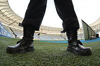 Rio de Janeiro (RJ), 14/03/2020 -Flamengo-Portuguesa - estadio do Maracana vazio antes do jogo Flamengo x Portuguesa,valida pela 3ª rodada da Taca Rio 2020, realizada no Estadio Jornalista Mario Filho (Maracana), na zona norte do Rio de Janeiro,neste sabado (14). (Foto: Alexandre Durao/Codigo 19/Codigo 19)