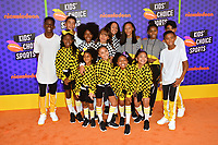 LA SparKids at the Nickelodeon Kids' Choice Sports Awards 2018 at Barker Hangar, Santa Monica, USA 19 July 2018<br /> Picture: Paul Smith/Featureflash/SilverHub 0208 004 5359 sales@silverhubmedia.com
