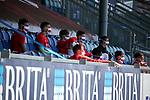 nph00250:  17.05.2020, Brita-Arena, Wiesbaden, GER, 2.FBL, Wehen-Wiesbaden vs VfB Stuttgart 17.05.2020 , <br /> Nur für journalistische Zwecke!<br /> <br /> Gemäß den Vorgaben der DFL Deutsche Fußball Liga ist es untersagt, in dem Stadion und/oder vom Spiel angefertigte Fotoaufnahmen in Form von Sequenzbildern und/oder videoähnlichen Fotostrecken zu verwerten bzw. verwerten zu lassen. <br /> <br /> Only for editorial use! <br /> <br /> DFL regulations prohibit any use of photographs as image sequences and/or quasi-video..<br /> im Bild<br /> Auswechselspieler VfB Stuttgart <br /> Foto: Robin Rudel/Pressefoto Rudel/Pool/via nordphoto / Bratic
