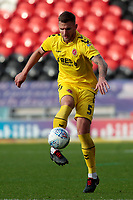 Fleetwood Town's Ashley Eastham in action<br /> <br /> Photographer David Shipman/CameraSport<br /> <br /> The EFL Sky Bet League One - Doncaster Rovers v Fleetwood Town - Saturday 6th October 2018 - Keepmoat Stadium - Doncaster<br /> <br /> World Copyright © 2018 CameraSport. All rights reserved. 43 Linden Ave. Countesthorpe. Leicester. England. LE8 5PG - Tel: +44 (0) 116 277 4147 - admin@camerasport.com - www.camerasport.com
