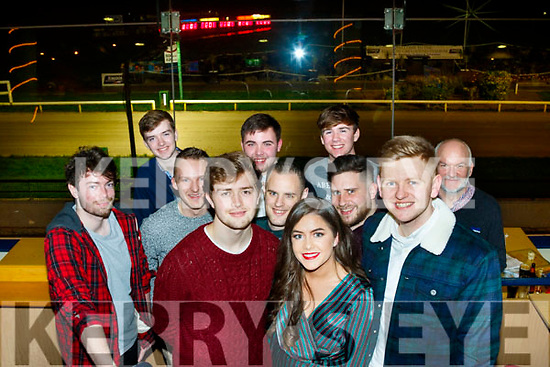 Fexco staff, Killorglin, at their Christmas party at Kingdom Greyhound stadium, Tralee, last Friday night.