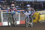 LAKESIDE HAMMERS v BIRMINGHAM BURMMIES<br /> ELITE LEAGUE<br /> FRIDAY 17TH MAY 2013<br /> ARENA ESSEX<br /> HEAT 8