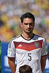 Mats Hummels (GER), JULY 4, 2014 - Football / Soccer : FIFA World Cup Brazil 2014 quarter-finals match between France 0-1 Germany at Estadio do Maracana in Rio de Janeiro, Brazil. (Photo by FAR EAST PRESS/AFLO)