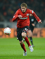 FUSSBALL   1. BUNDESLIGA   SAISON 2012/2013    20. SPIELTAG Bayer 04 Leverkusen - Borussia Dortmund                  03.02.2013 Stefan Kiessling (Bayer 04 Leverkusen) Einzelaktion am Ball