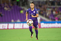 Orlando, FL - Saturday September 02, 2017: Camila Martins Pereira during a regular season National Women's Soccer League (NWSL) match between the Orlando Pride and the Boston Breakers at Orlando City Stadium.