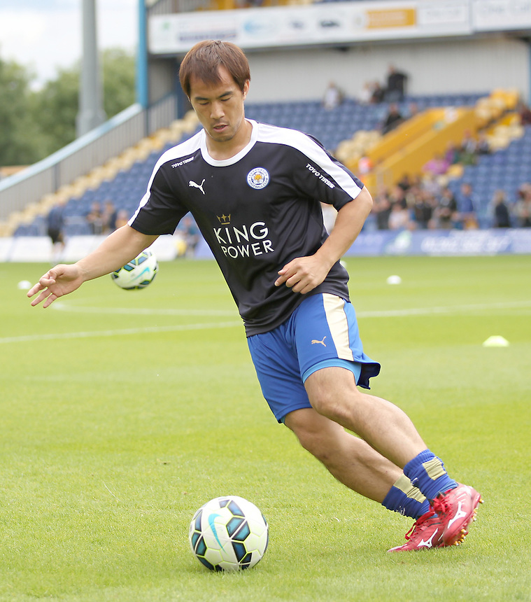 Leicester City's Shinji Okazaki<br />