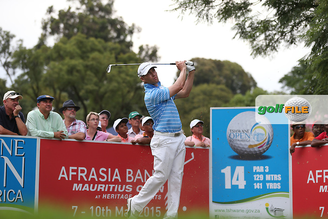 Trevor Fisher Jnr (RSA)  from the 14th during Round Two of the Tshwane Open 2015 at the Pretoria Country Club, Waterkloof, Pretoria, South Africa. Picture:  David Lloyd / www.golffile.ie. 13/03/2015
